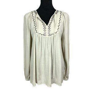 Monsoon UK Boho Long Sleeve Embellished Blouse 8